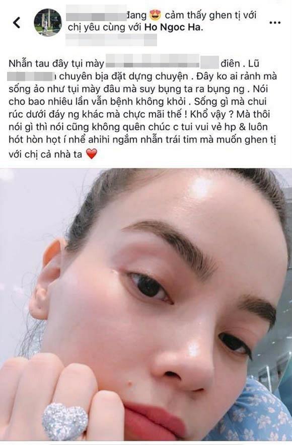 """Vợ Chu Đăng Khoa """"mỉa mai"""" Hà Hồ khoe nhẫn kim cương hàng 'chợ'? 3"""