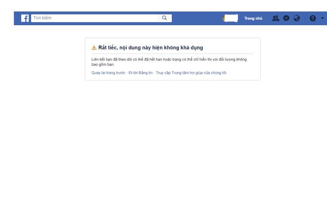 Sau 1 ngày làm khổ cộng đồng mạng, Facebook chính thức khóa tính năng Load Page 1