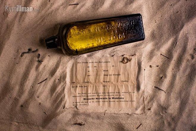 Hé lộ số phận của bức thư cổ nhất trong chai: Lênh đênh trên biển gần 132 năm 1