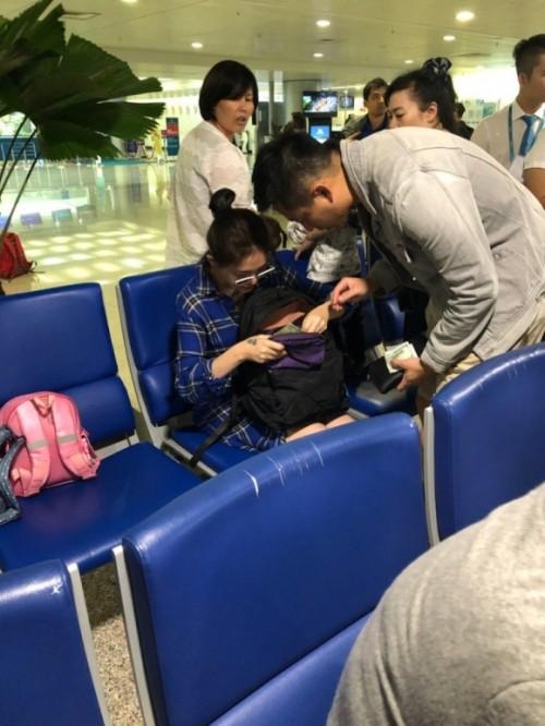 Lộ ảnh Từ Hy Viên dưỡng thai tại Phú Quốc 1