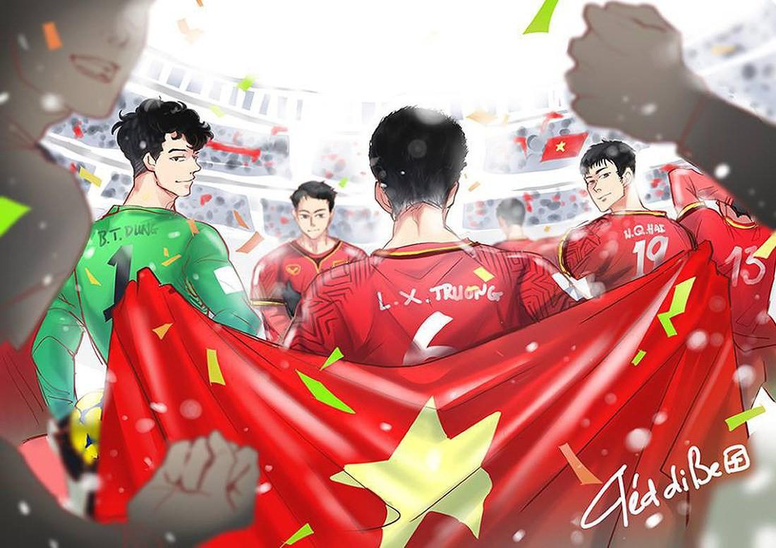 Fan hâm mộ mua hẳn 1 ngôi sao trên trời dành tặng U23 Việt Nam! 3