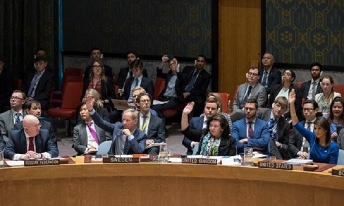 Liên Hợp Quốc bác dự thảo nghị quyết của Nga về việc lên án Mỹ tấn công Syria 1