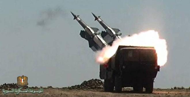 Sự thực đã có bao nhiêu tên lửa hành trình bị phòng không Syria bắn hạ? 1