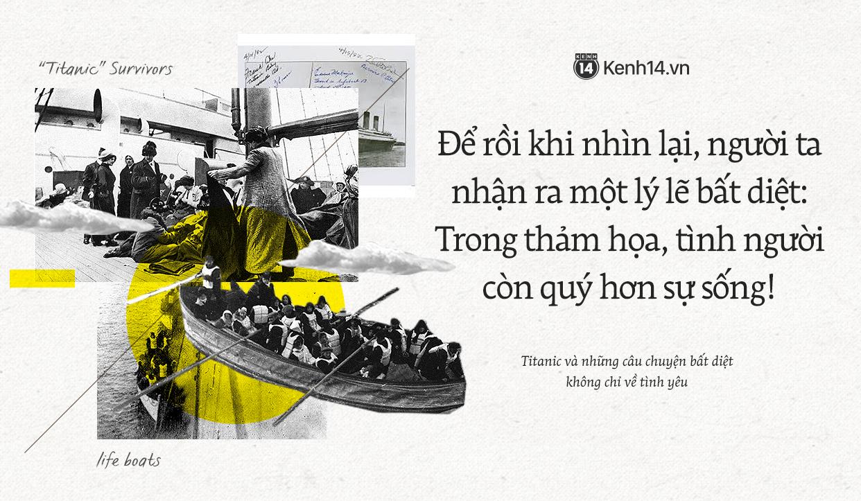 106 năm trôi qua từ ngày tàu Titanic chìm xuống, những câu chuyện về tình yêu và tình người vẫn khiến người người thổn thức 1
