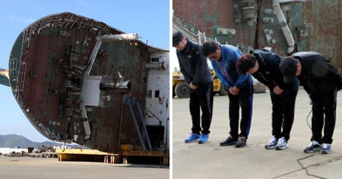 4 năm trôi qua, những câu chuyện buồn từ thảm kịch chìm phà Sewol khiến người dân Hàn Quốc nghẹn ngào nước mắt 1
