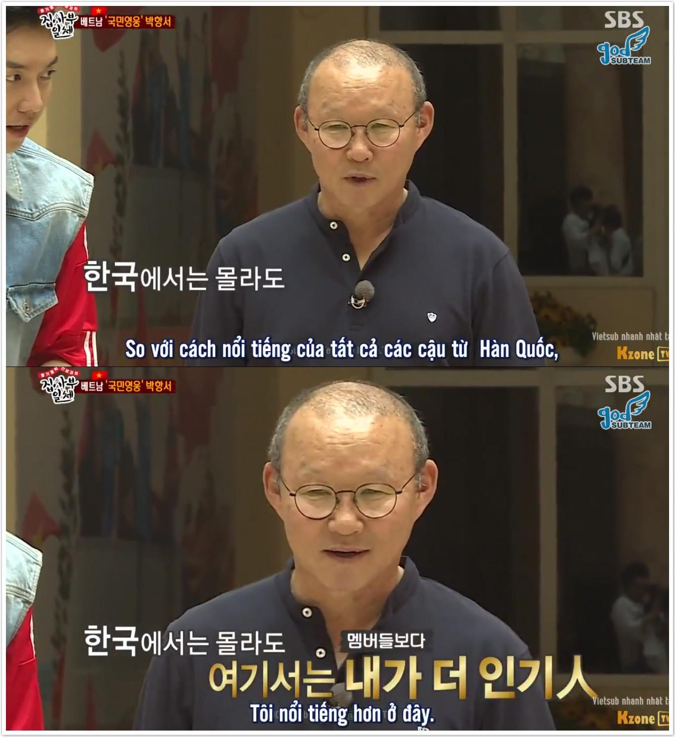 HLV Park Hang Seo tuyên bố nổi tiếng hơn tất cả dàn cast Master in the House tại Việt Nam - Ảnh 3.