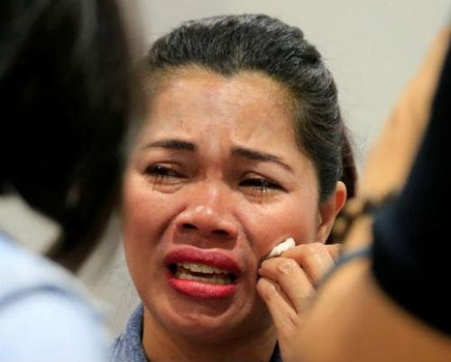 Hình ảnh Người giúp việc Philippines bị chủ ép uống chất tẩy rửa số 1