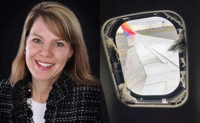 Tiết lộ nguyên nhân cái chết của nữ hành khách bị hút nửa người qua cửa kính máy bay và treo bên ngoài vài phút 1