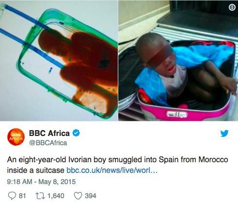 Những thứ kỳ quái từng bị thu giữ tại sân bay, trong đó thậm chí có cả một cậu bé bị nhét vào hành lý 11