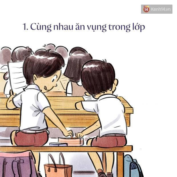 Bộ tranh dễ thương về tuổi học trò: cả một trời thanh xuân của bao thế hệ bỗng ùa về 1