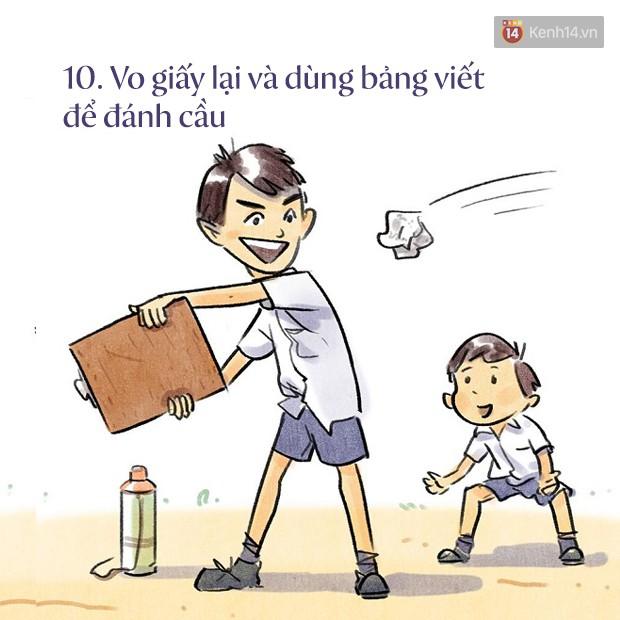Bộ tranh dễ thương về tuổi học trò: cả một trời thanh xuân của bao thế hệ bỗng ùa về 10
