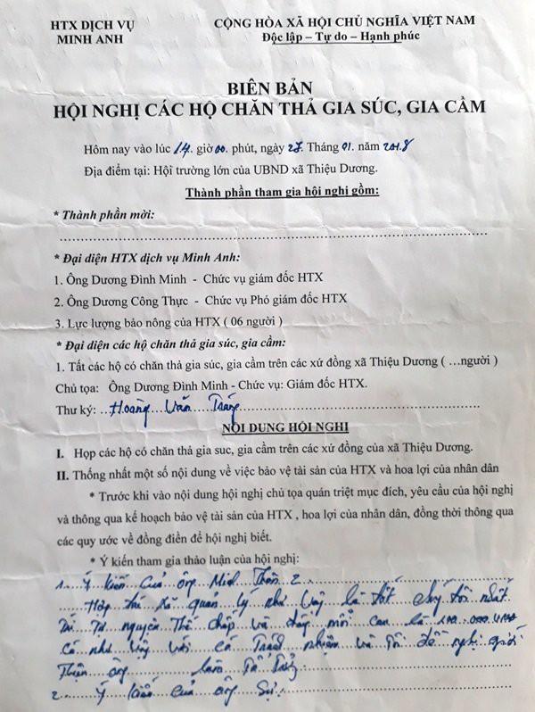 Phó đoàn ĐBQH tỉnh Thanh Hóa: Lần đầu tiên xảy ra việc thu phí đồng cỏ với trâu, bò 1