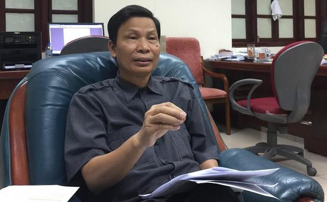 Đang cho kiểm điểm về mặt Đảng với quyền Vụ trưởng Nguyễn Minh Mẫn trong vụ phải xin lỗi 1