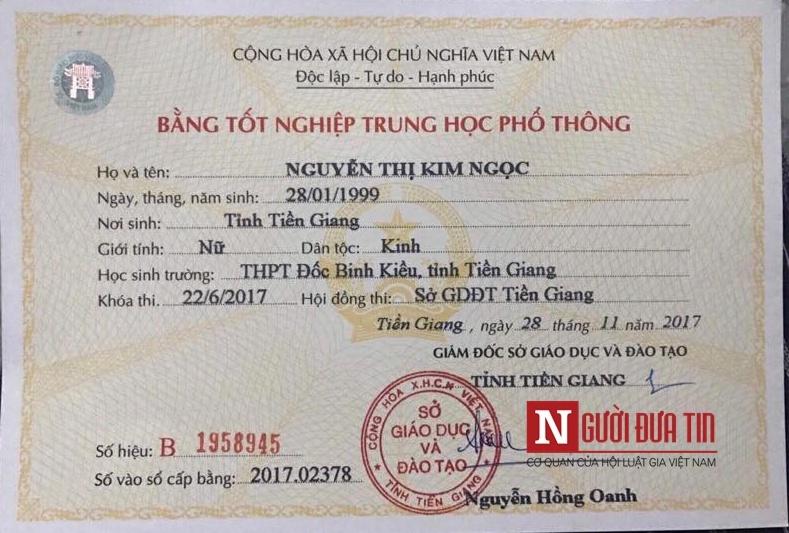 Tân Hoa hậu biển Việt Nam 2018 khoe bằng cấp 3 giữa lùm xùm học vấn 2