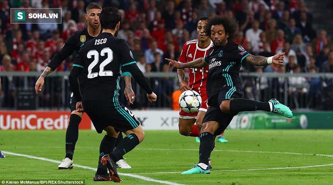 Ronaldo 'lặn sâu', Real Madrid vẫn suýt 'giải quyết gọn' Bayern Munich ngay lượt đi 1
