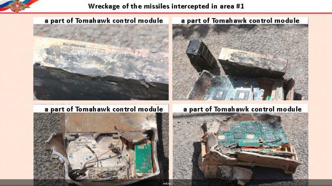 Nga công bố ảnh tên lửa mới, thông minh Mỹ tan xác ở Syria: