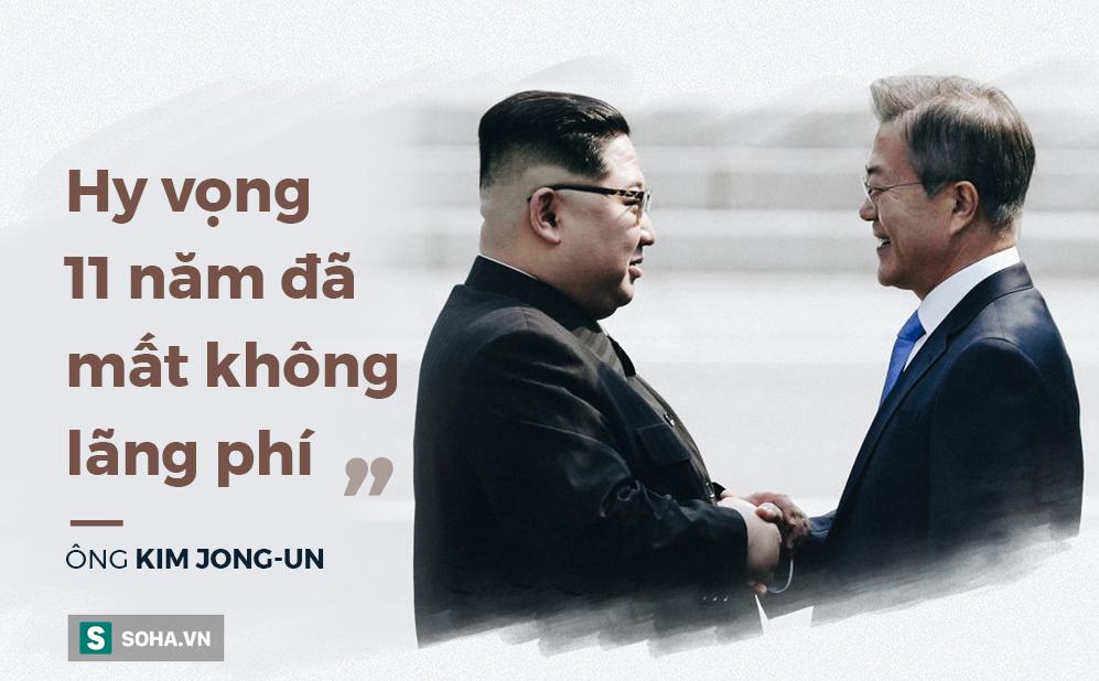 Những lời thắm thiết dành cho nhau của Tổng thống Hàn Quốc và 'đồng chí Kim' 2