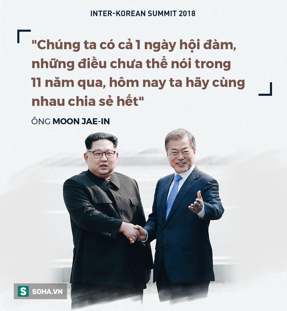 Những lời thắm thiết dành cho nhau của Tổng thống Hàn Quốc và 'đồng chí Kim' 5
