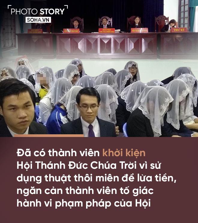 [PHOTO STORY] 10 biểu hiện đáng sợ của Hội Thánh đức Chúa trời 11