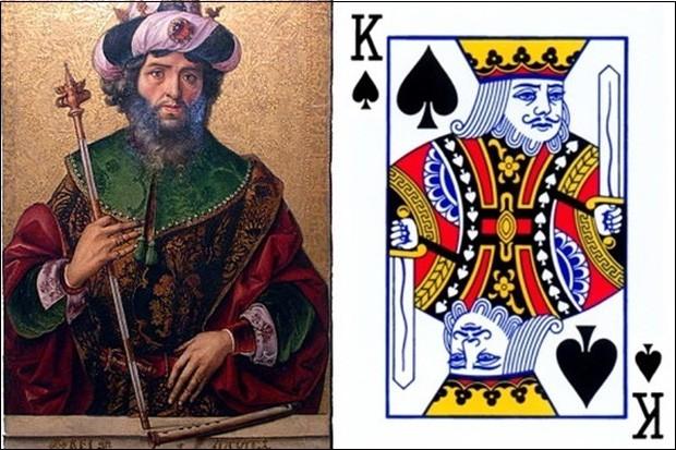 Bí ẩn ít biết đằng sau bộ bài tây: Quân J, K, Q là hiện thân của những nhân vật nào trong lịch sử? 7