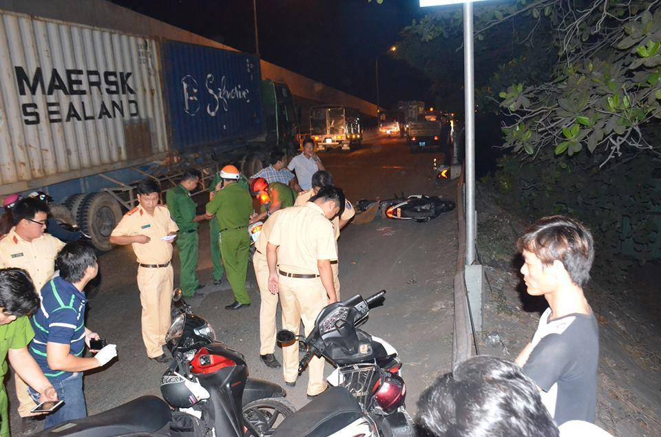 Truy tìm tài xế lái xe tải bỏ trốn sau tai nạn chết người ở Sài Gòn 1