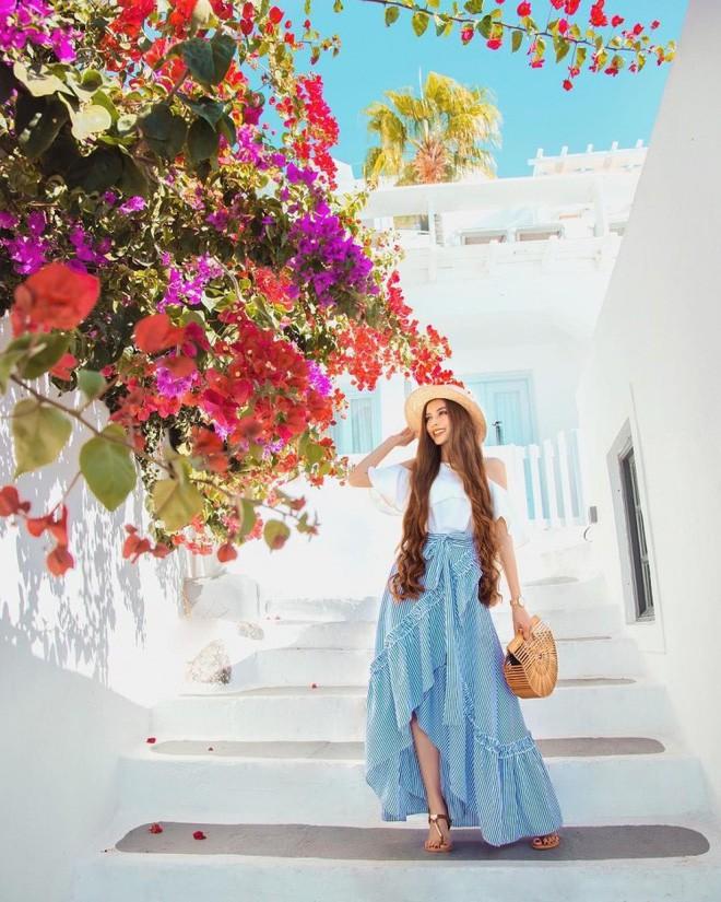 Cô gái gốc Việt khiến dân tình phát ghen vì xinh như công chúa tóc mây lại có người yêu đẹp trai như hoàng tử - Ảnh 7.