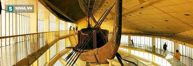 Con tàu 4000 năm tuổi chạy bằng năng lượng Mặt trời được chôn sâu dưới chân kim tự tháp Giza 1