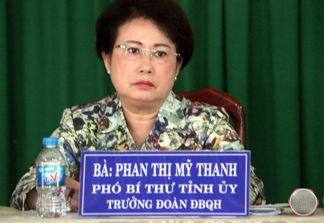 Phó bí thư Đồng Nai Phan Thị Mỹ Thanh vẫn tiếp xúc cử tri 1