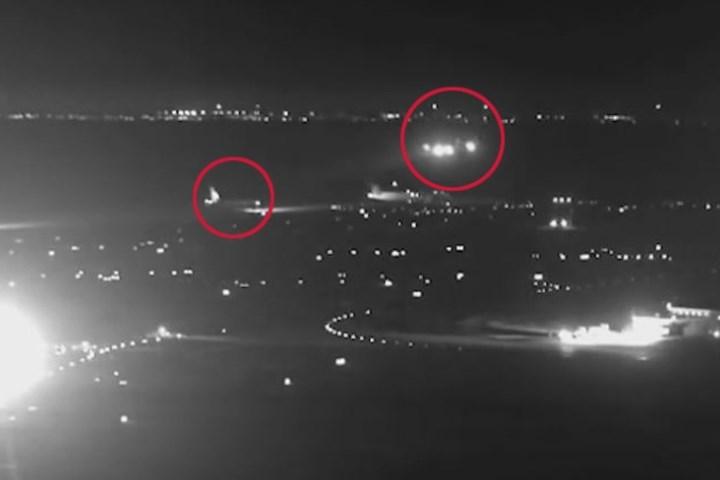Hạ cánh nhầm đường băng, máy bay Canada suýt đâm 4 phi cơ chở khách 1
