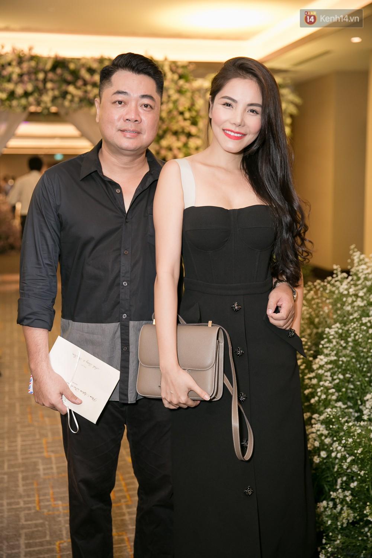 Cường Đô La và bạn gái Đàm Thu Trang cùng nhau đến chúc mừng đám cưới của Diệp Lâm Anh 7