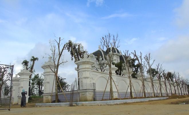 Xôn xao ngôi biệt thự rộng gần 2000m2 của cụ bà tuổi 78 ở Hà Tĩnh 1