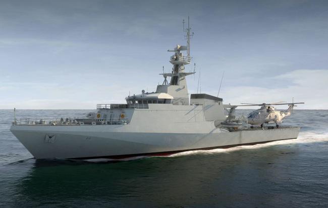 Vừa được biên chế, tàu tuần tra tối tân của Anh đã phát sinh tới 100 lỗi kỹ thuật 1