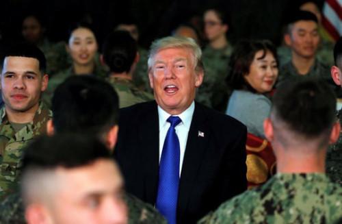 Mỹ bác tin Tổng thống Trump muốn rút bớt quân khỏi Hàn Quốc 1