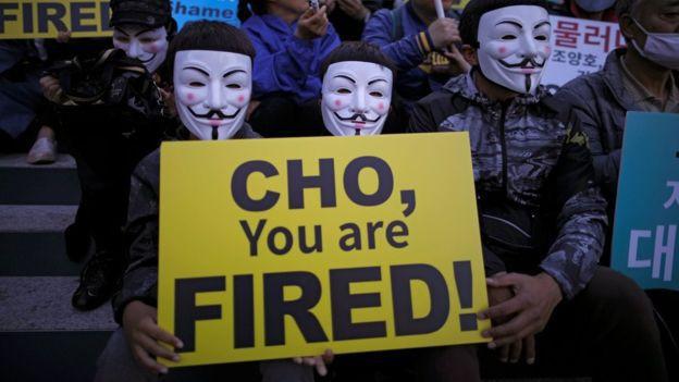 Nhân viên hãng hàng không Korean Air xuống đường biểu tình, kêu gọi chủ tịch từ chức 2