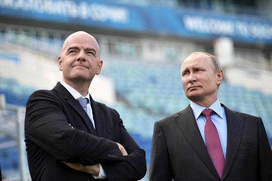 Tổng thống Vladimir Putin bắt đầu nhiệm kỳ mới 1