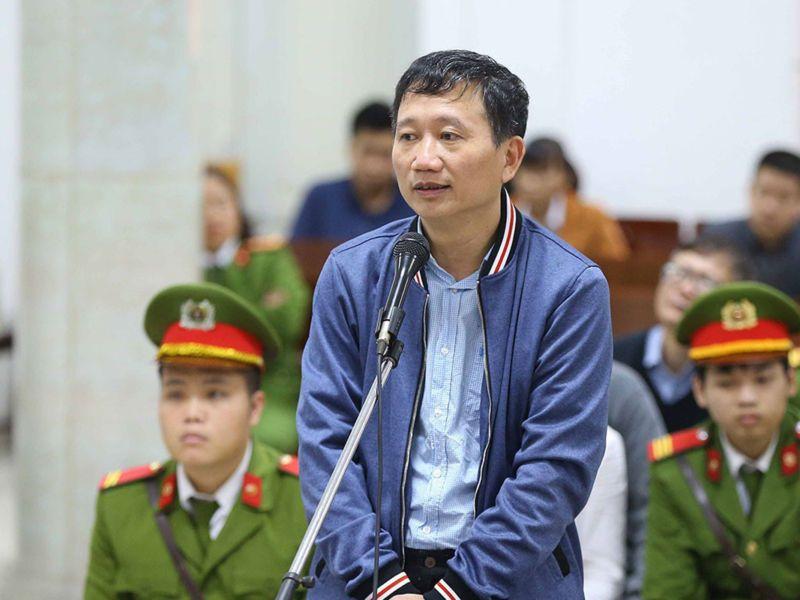 Trịnh Xuân Thanh rút đơn kháng cáo, vắng mặt tại tòa phúc thẩm 1