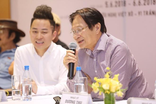 Nhạc sĩ Dương Thụ: Thanh Lam, Hồng Nhung mà hát nhạc Trịnh thì hỏng hết - Ảnh 2.