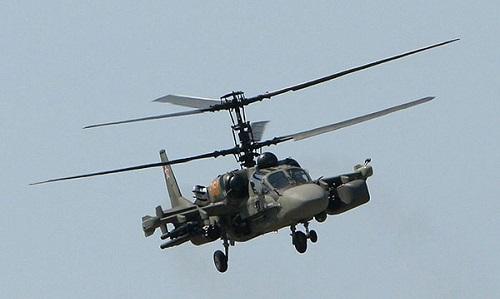 Trực  thăng vũ trang của Nga rơi, 2 phi công thiệt mạng 1