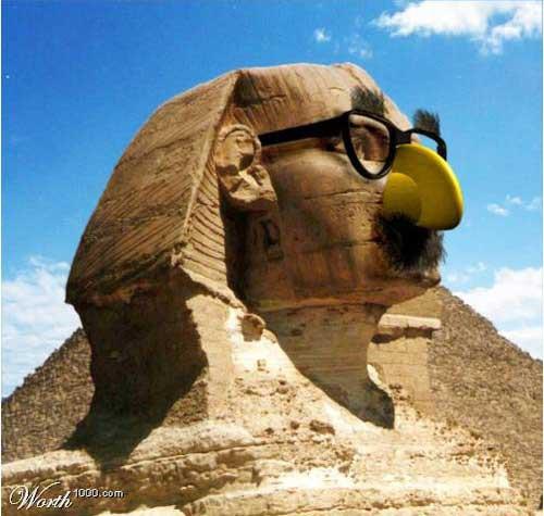 Những sự thật thú vị về lịch sử thế giới: Từ trận chiến cấp quốc gia vì World cup tới bí ẩn mũi tượng Nhân Sư Ai Cập 6