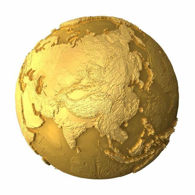 Kho vàng bí ẩn phủ kín cả Trái Đất: Nhân loại đang 'bỏ phí' 80\% lượng vàng ngầm 1