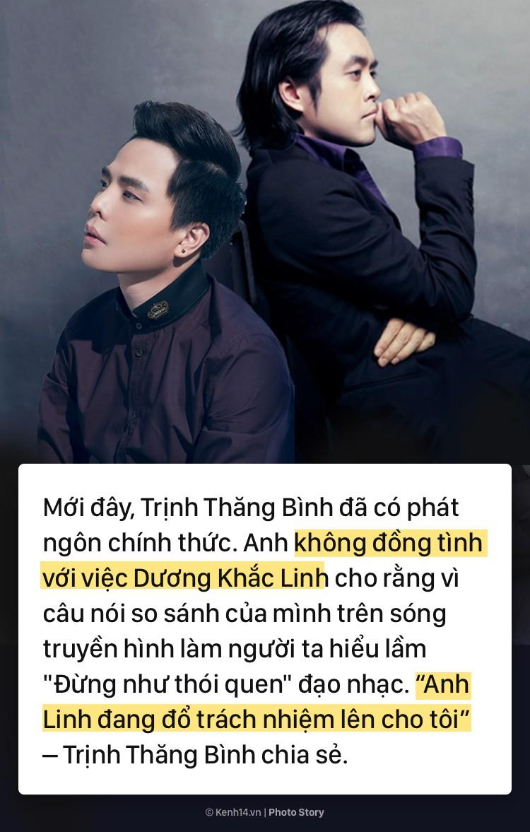 Toàn cảnh diễn biến mâu thuẫn của sự kiện nghi vấn Dương Khắc Linh đạo nhạc Trịnh Thăng Bình 7