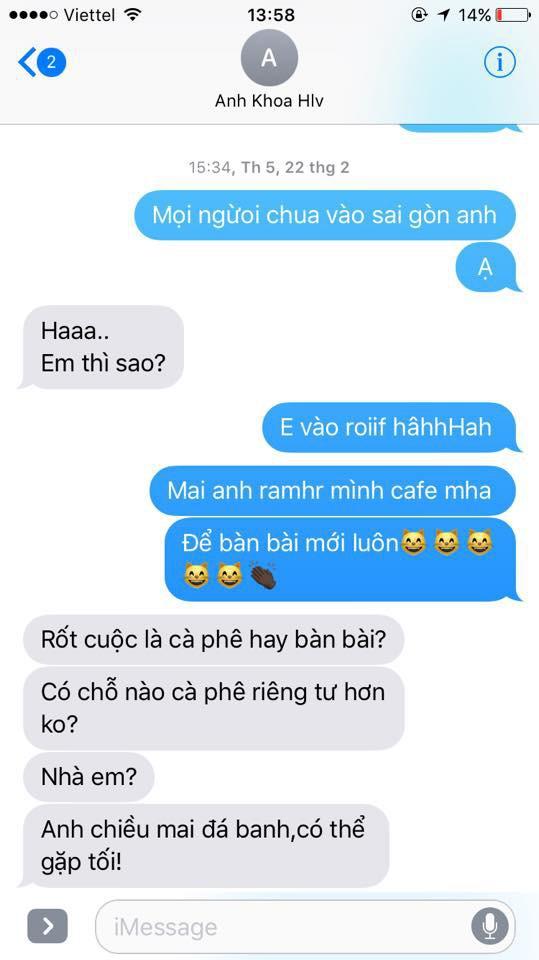 Sau 1 tuần im lặng, Phạm Lịch tung bằng chứng tin nhắn với vợ chồng Phạm Anh Khoa 5