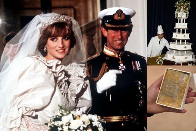 Nhiều năm trôi qua, bánh cưới từ 5 đám cưới Hoàng gia Anh sắp được đem ra đấu giá, bạn sẽ bất ngờ với giá trị thật của 1 miếng bánh 6