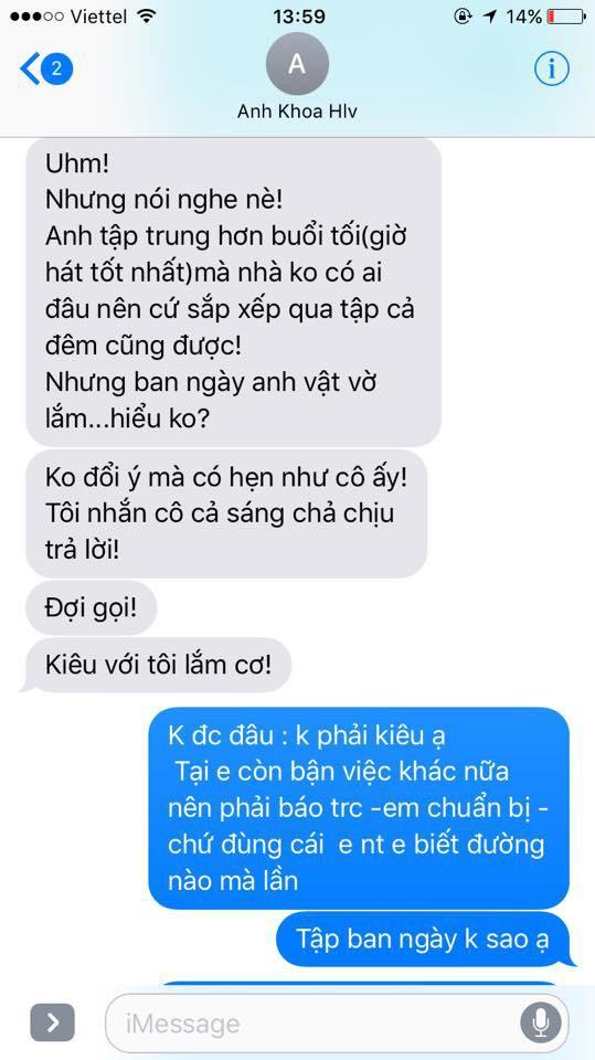 Sau 1 tuần im lặng, Phạm Lịch tung bằng chứng tin nhắn với vợ chồng Phạm Anh Khoa 6