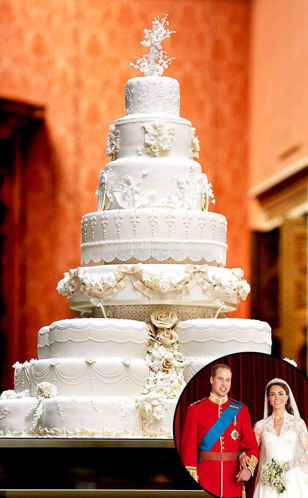 Nhiều năm trôi qua, bánh cưới từ 5 đám cưới Hoàng gia Anh sắp được đem ra đấu giá, bạn sẽ bất ngờ với giá trị thật của 1 miếng bánh 7