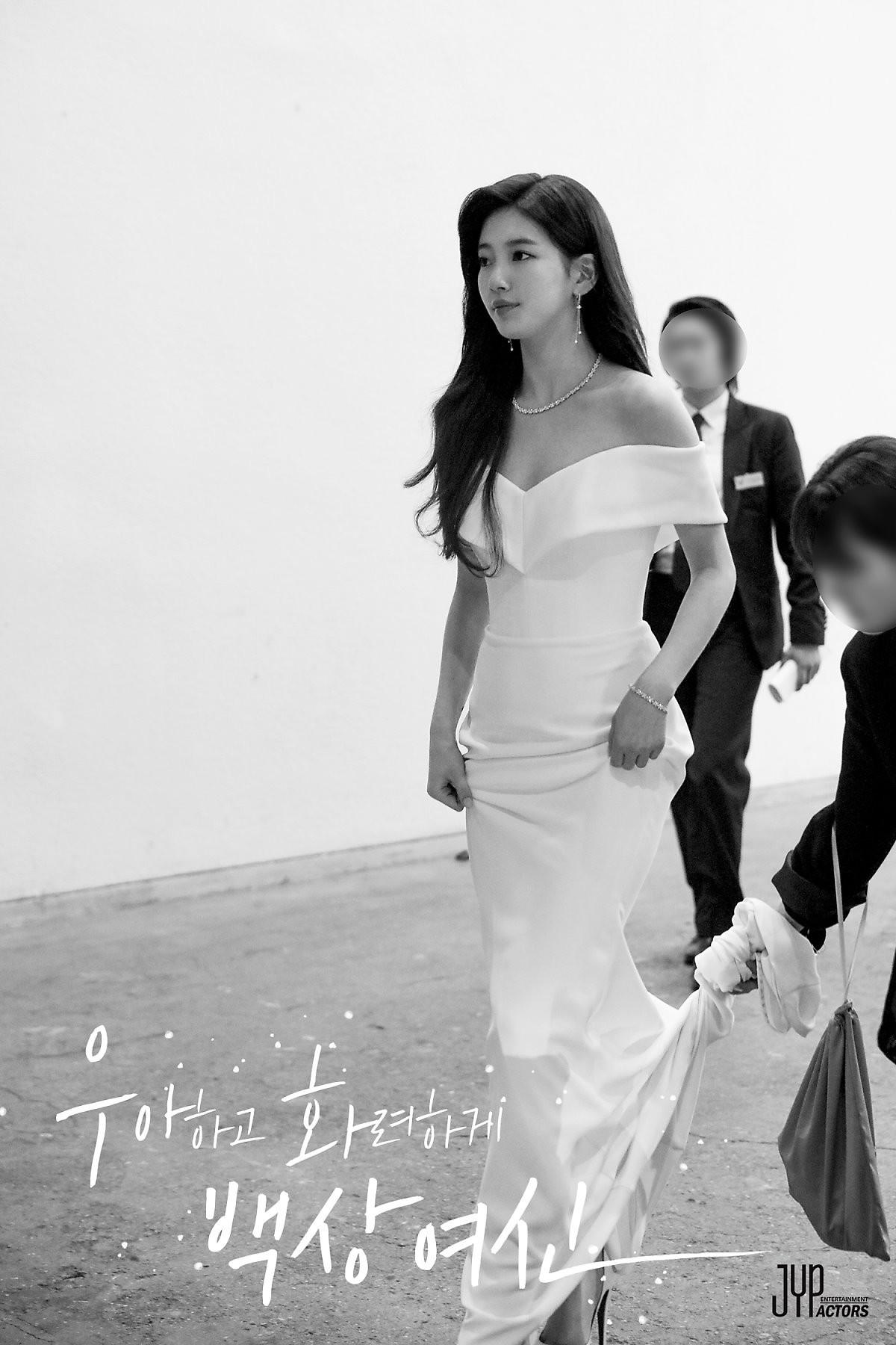 Hình hậu trường nóng hổi của Suzy tại Baeksang: Sải bước ở hầm để xe mà sang như bà hoàng, đẹp hơn cả đi thảm đỏ 8