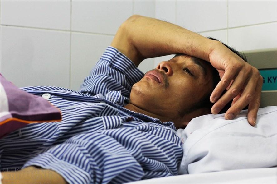 Tài xế taxi Mai Linh bị đánh chảy máu đề nghị cơ quan chức năng làm rõ, xử lý người hành hung mình 1