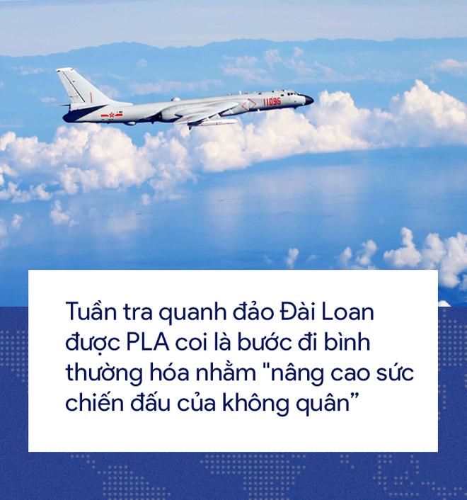 [Photo Story] 'Cơn ác mộng' Su-35 bị bám đuôi trong lần đầu tiên hộ tống H-6K vờn Đài Loan 6