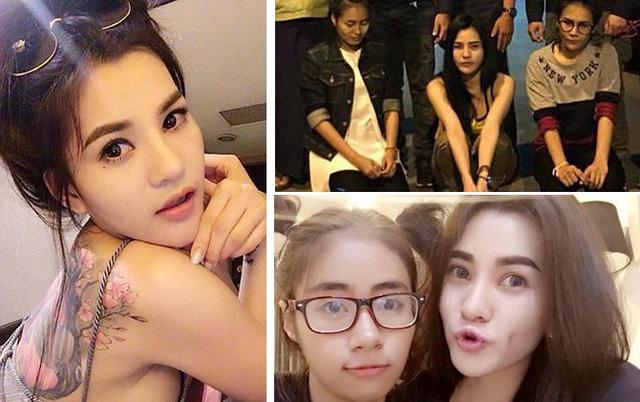 Hình ảnh Dung nhan bất ngờ của bộ 3 nữ sát thủ lĩnh án 127 năm tù số 1