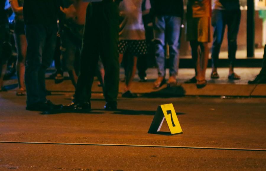 Hiện trường vụ án mạng kinh hoàng trên đường CMT8 khiến 6 hiệp sĩ đường phố bị băng cướp đâm thương vong 8